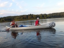 Tuesday Canoe Overnight - Drew and Ian