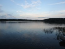 Tuesday Canoe Overnight - View from Outpost Site