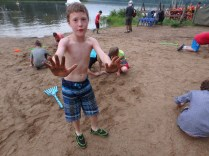 Wednesday Beach Party - Sandcastle Building Competition - James
