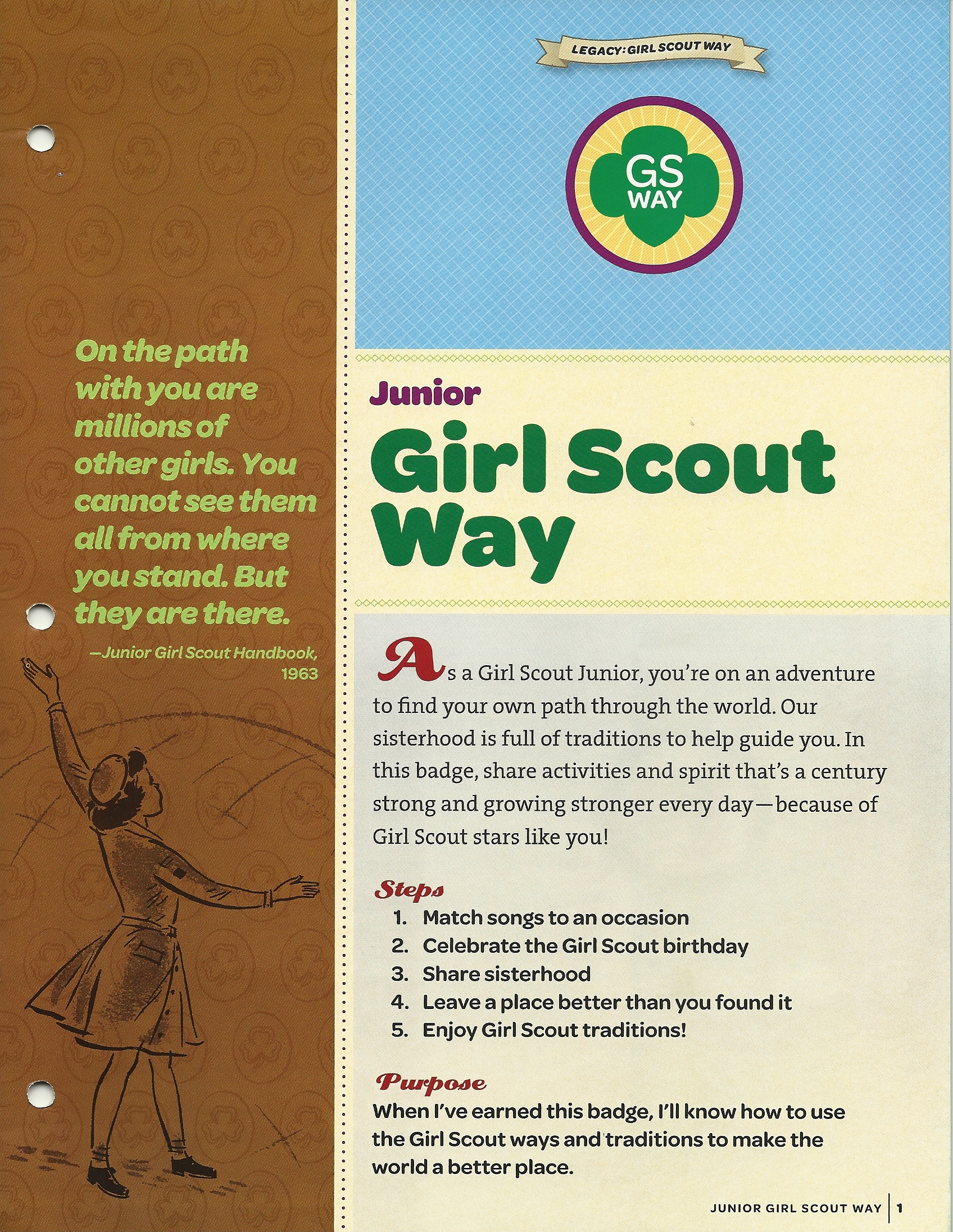 Girl Scout Way