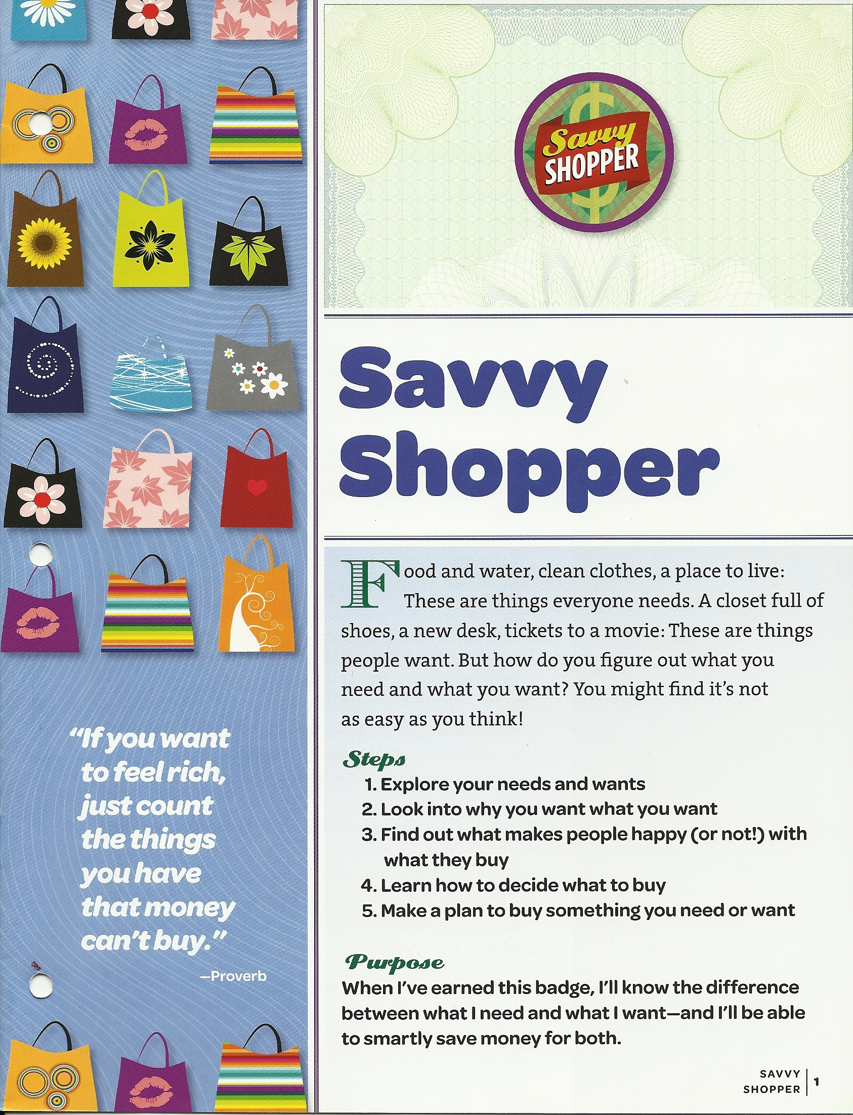 Savvy Shopper