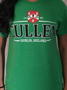 Cullen #7594 T-Shirt