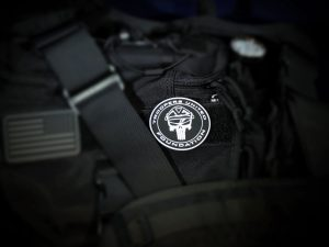 TUF Velco Morale Patch (Olive Drab)