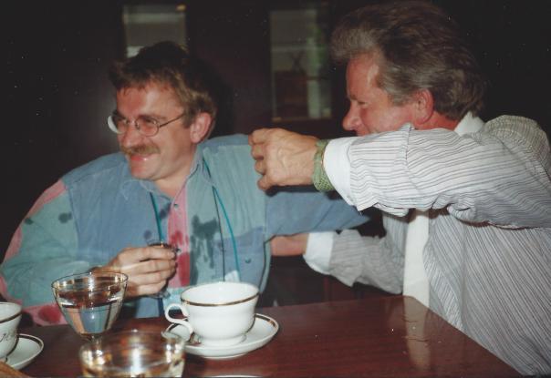 foto onderhandelingen met wodka