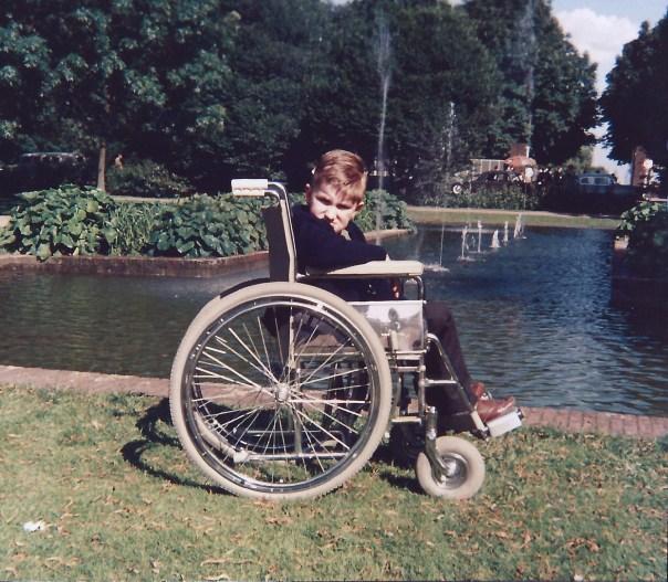 jan in rolstoel 1966
