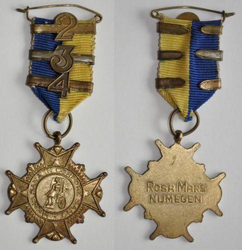 Onze welverdiende medaille