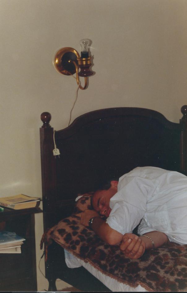 foto rob slaapt