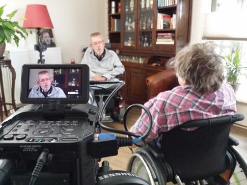 Opname video Aparticipatie. Jan van Slochteren hij zou maar 18 jaar worden werd hem verteld!
