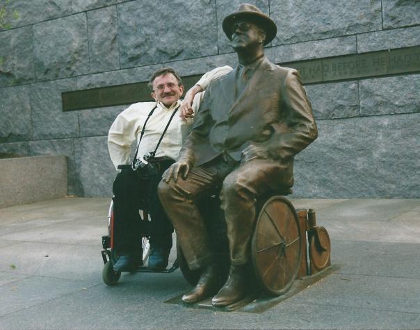 Recht op rolstoel ook voor Presidenten en Koningen.