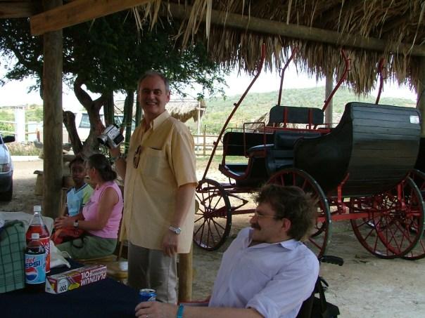Curaçao bezoek Santha Martha