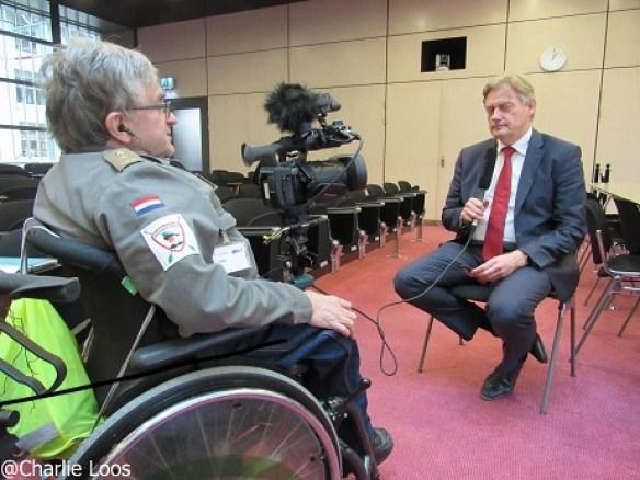 Martin van Rijn in gesprek met Jan Troost