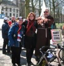 Linda Voortman met Charlie Loos en Broeder Tuck