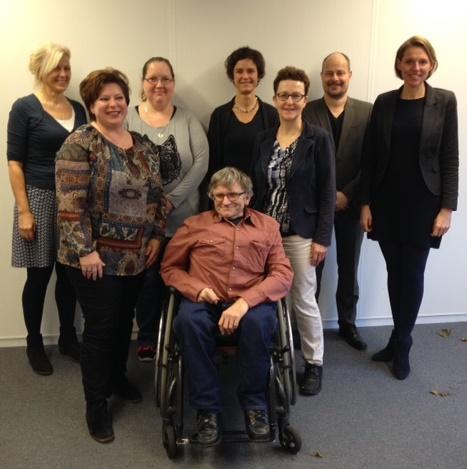Team MEE.NL met onze directeur Mirjam Sterk niet alle medewerkers waren aanwezig.