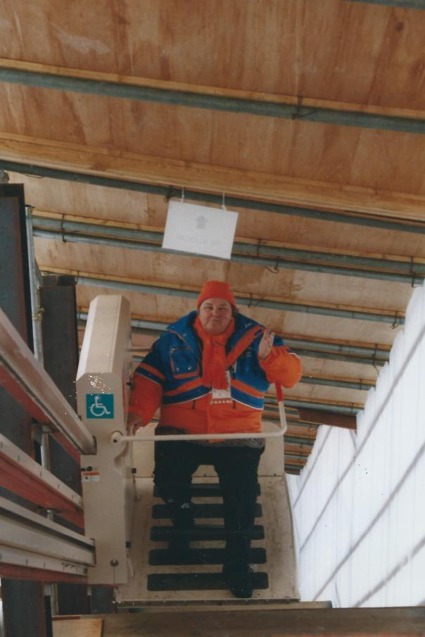 met erica in Nagano 1998