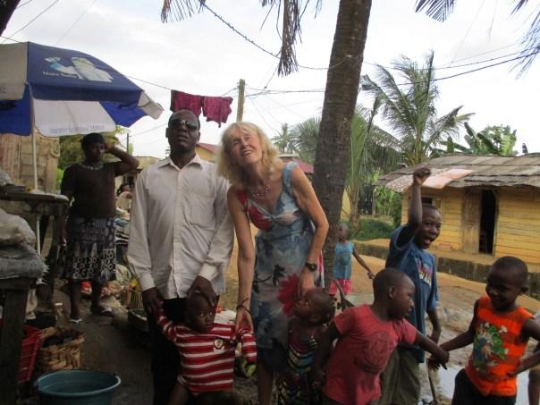 Truus Jonker in Kameroen
