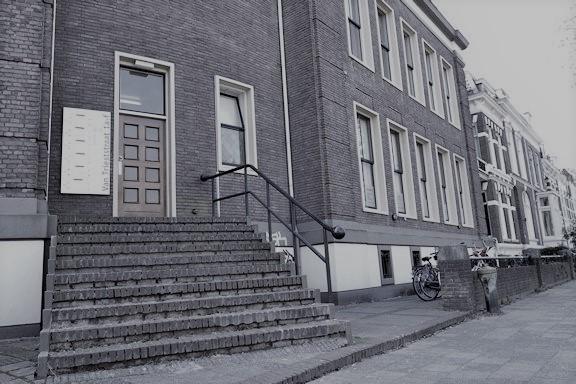 trap voor de ingang