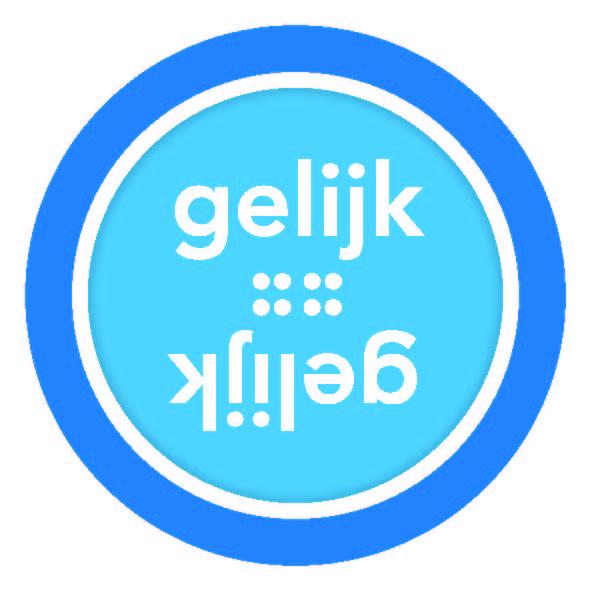 logo Gelijk = Gelijk