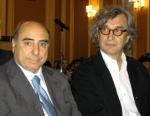 Wim Wenders e Agazio Loiero (fonte quotidiano della calabria).jpg