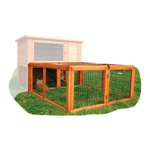Påbygg utegård kanin og marsvin 116x109x55cm
