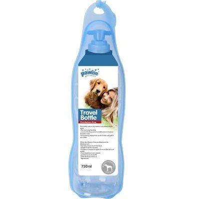 Vannflaske med skål 750ml
