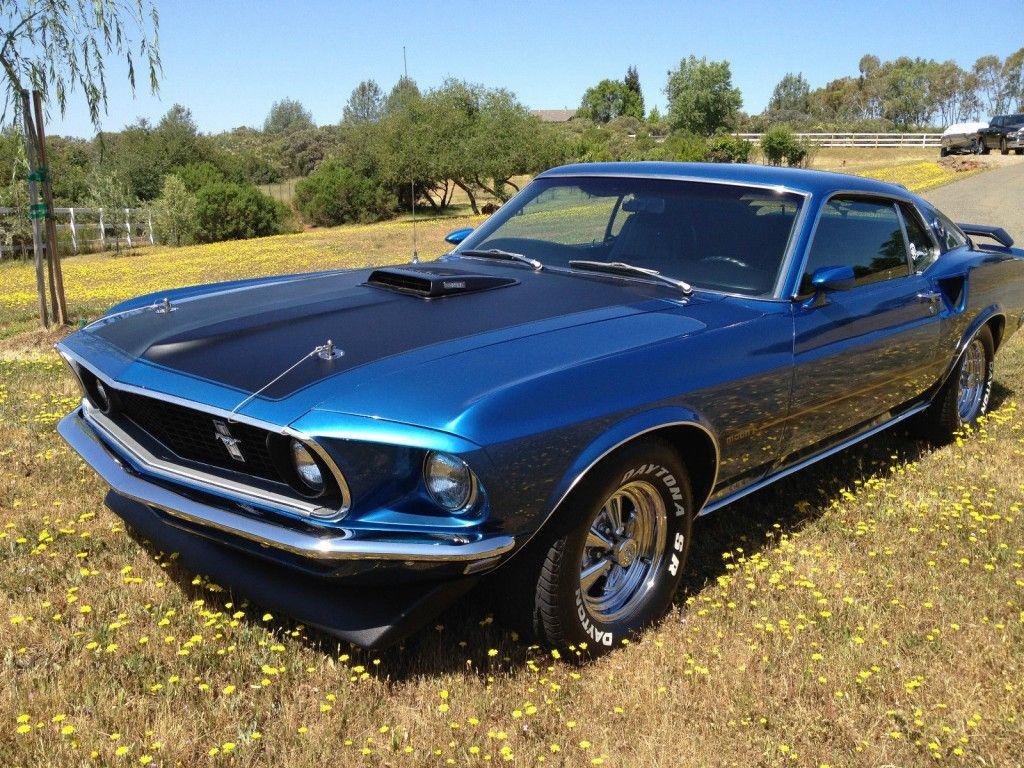 1969 Mustang Shaker Hood Scoop Ford Mach 1