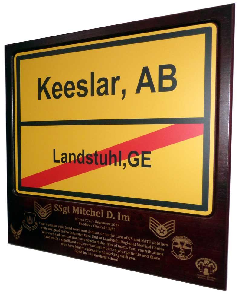 Usaf Retired License Plate Frame