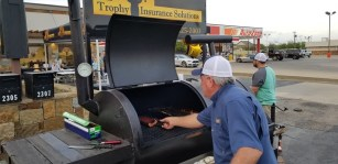 Meat Smoker for Trophy Insurance