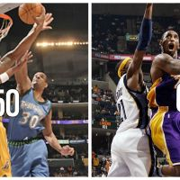Mar 23-2007: Kobe Notches 4th Straight 50 Pt (or more) Game