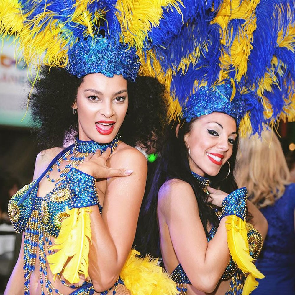 Hire carnival dancers for entertainment