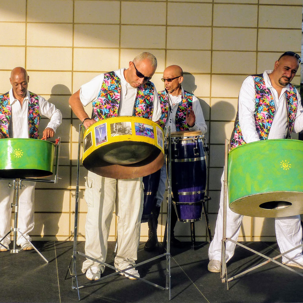 Caribbean Steel Band entertainers for hire