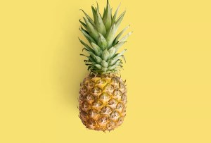 Pineapple - a tropical fruit