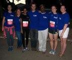 Team Cuso ready to run/walk/cheer. (Thanks to Kate Chappell for the pic)
