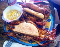 Rock lobster, bammy, festival, escovitch