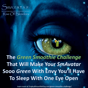 Avatar Green Smoothie Challenge-Instagram