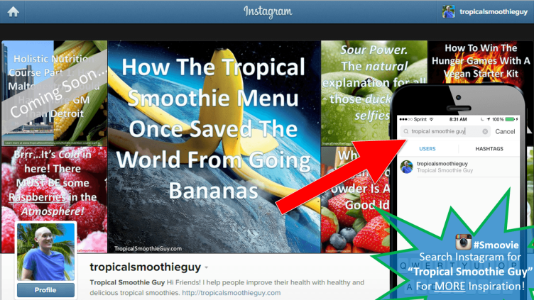 Tropical Smoothie Guy On Instagram 3