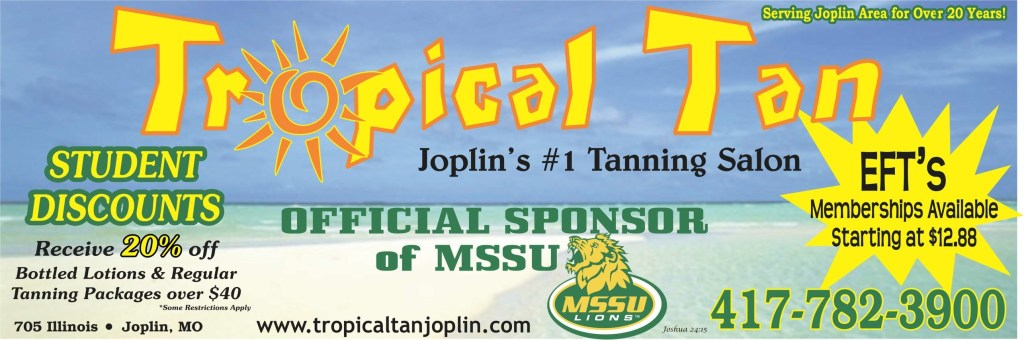 Tropical Tan Supports MSSU
