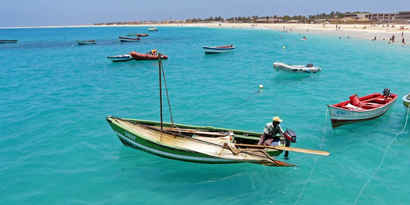 Cape-verde with tropical warehouse