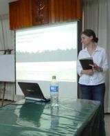 Katy presenting at IIAP