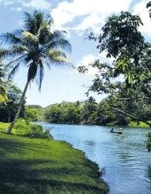 The Mopan River, Cayo, Belize