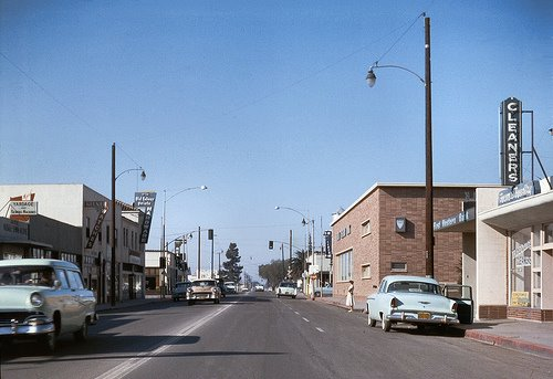 Garden Grove, Orange County, CA 1950s
