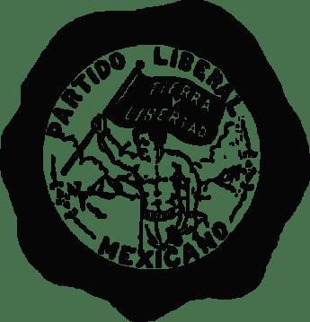 Partido Liberal Mexicano button