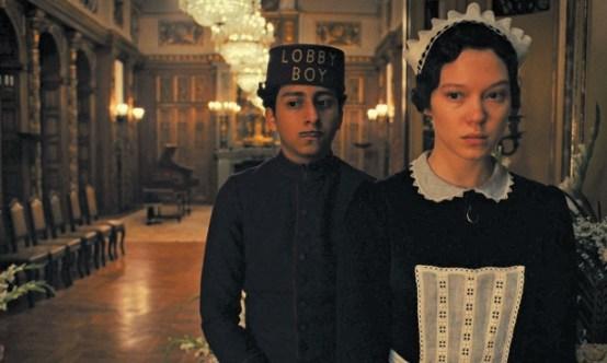 Zero and Clotilde in Grand Budapest Hotel