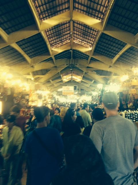 Market in Ho Chi Minh City, December 2013