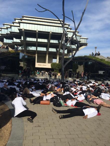 UCSD White Coat Die In 12/10/2014