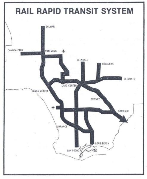 Proposed transit map
