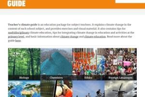 Teacher's Climate Guide
