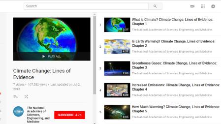 Climate Change Videos