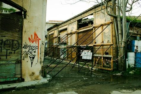 Tuż przy zielonej linii grecka strona Nikozji nie zachwyca...