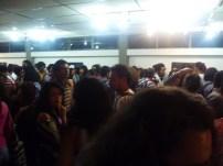 la gente, crowd, la foule students in majority