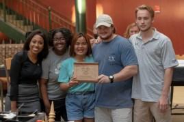 Team Delta Sigma Pi won fan favorite.
